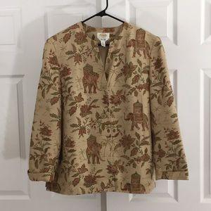 Talbots's silk blazer
